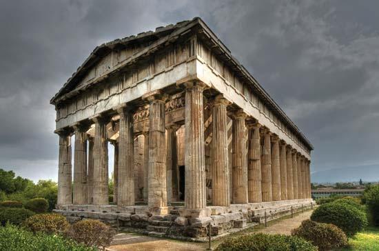 4. Athens - Temple of Hephaestus
