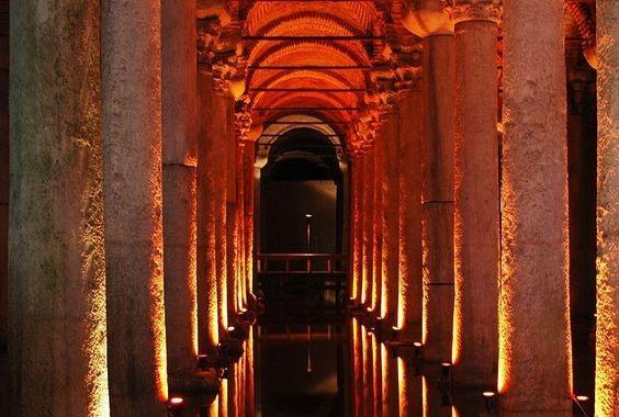 1. Istanbul - Basilica Cistern