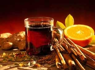 Mulled wine at Christmas markets