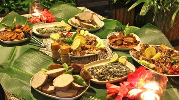 Traditional Fijian Lovo