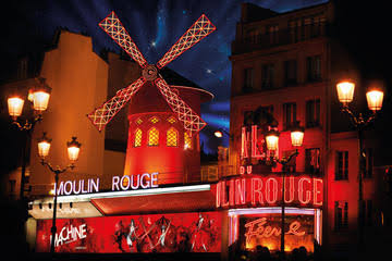 Dinner and show at the world famous Moulin Rouge