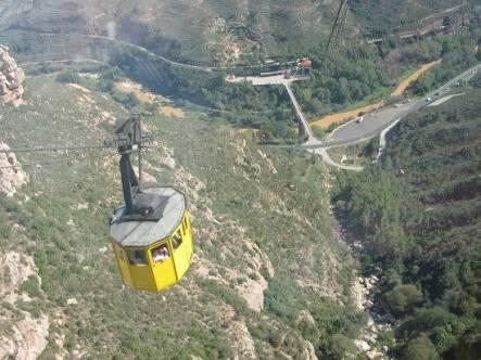 Montserrat Mountain Cable Car Ride