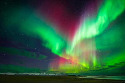 The Northern Lights...(of old Aberdeen)