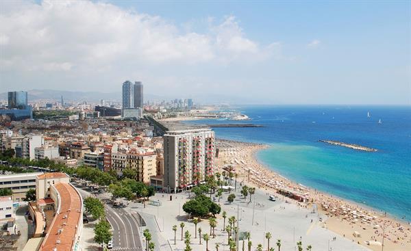 1 nights accomodation in Barcelona