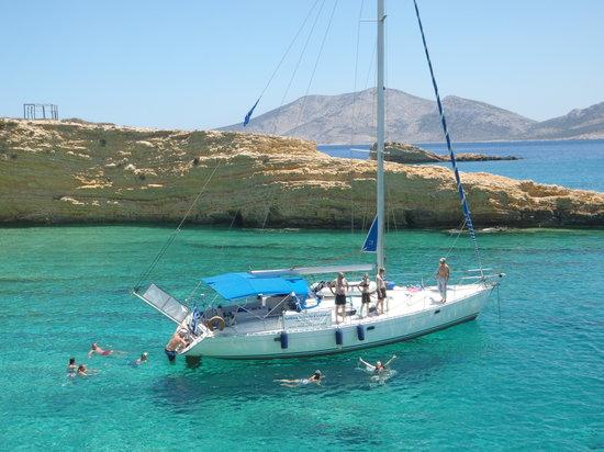 Sailing tour in Naxos- each