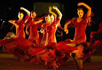 Flamenco dance show in Barcelona- each