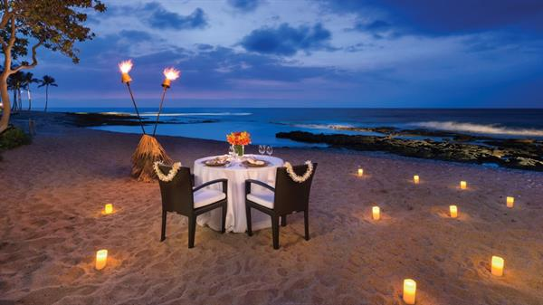 Dinner in Hawaii