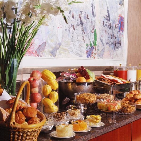 Buffet breakfast for two