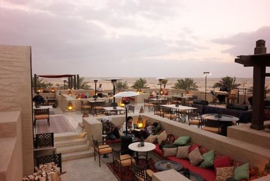 Dinner at Al Sarab Rooftop Lounge