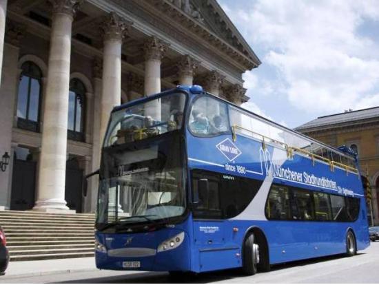 24 hour hop on-hop off bus tickets - Munich