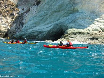 Sea Kayak Tour - Santorini