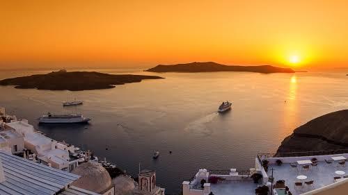 Sunset Dinner Cruise - Santorini