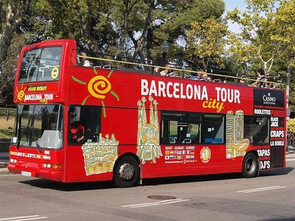 Bus tour of Barcelona