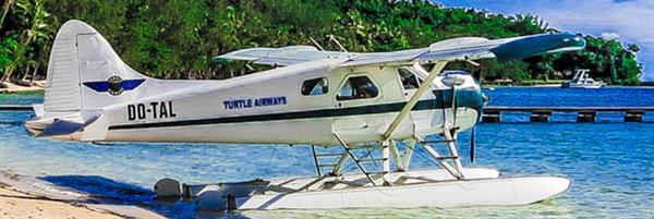 Sea Plane Transfer to Island