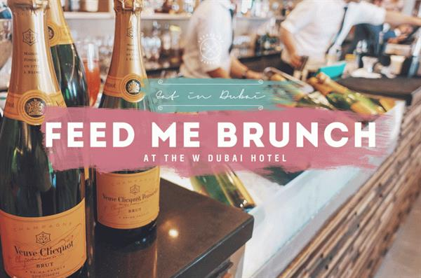 Brunch with free flow Champagne