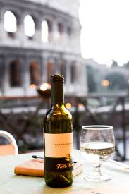 Romantic dinner in Rome