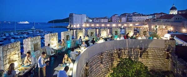Meal at Restaurant 360 (Dubrovnik)