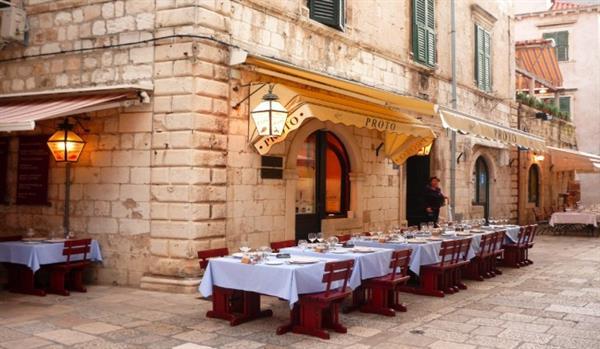 Meal at Proto (Dubrovnik)