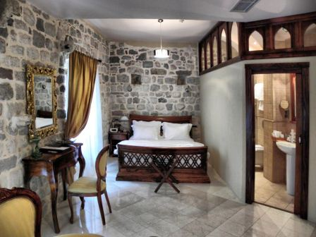 One night in a Deluxe Studio Apartment at Villa Duomo, Kotor