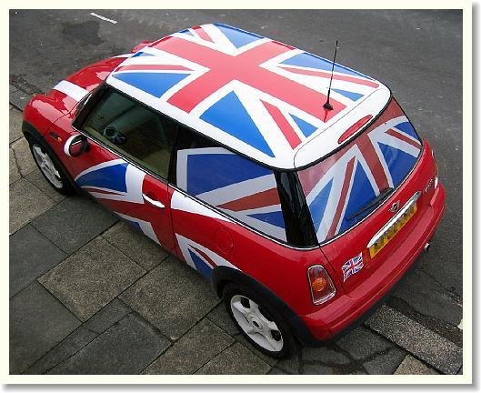 Car hire in the UK