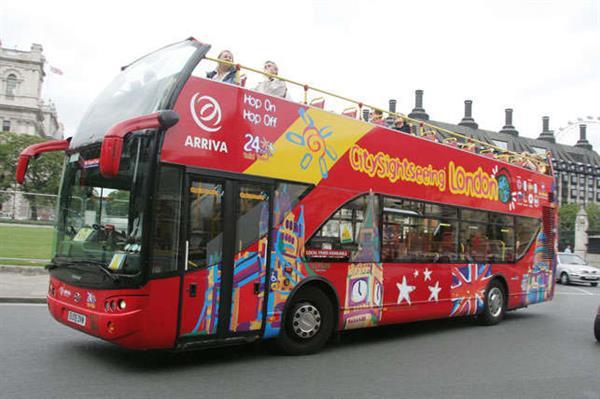 London Bus and London Eye