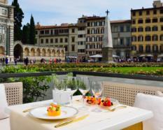 Dinner in Piazza Navona