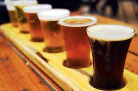 Beer tasting for 2