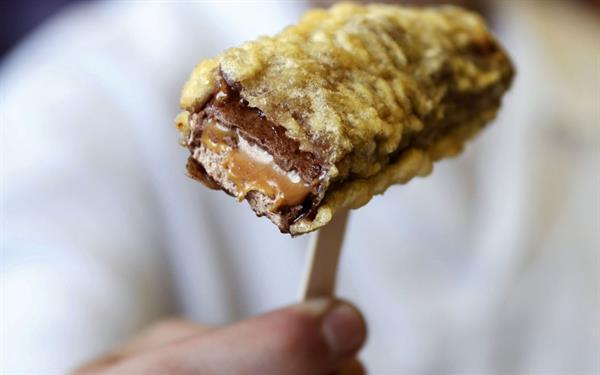 Deep Fried Mars Bars