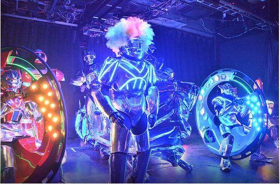 Tokyo Robot Restaurant Cabaret Show Ticket