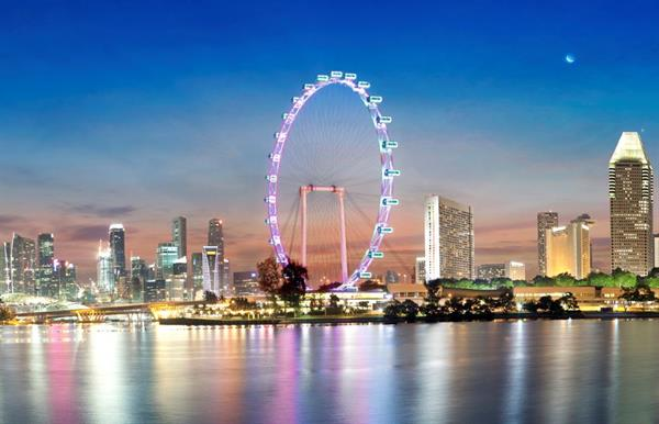 Singapore Flyer - the world's largest Giant Observation Wheel