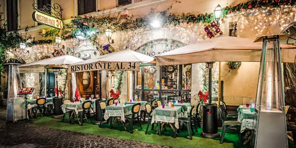 Romantic dinner in Florence