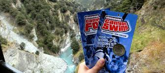 Canyon Swing, Queenstown