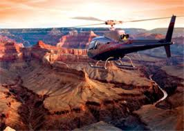 Helicopter tour of the Grand Canyon