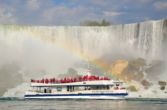 Boat tour of the Falls