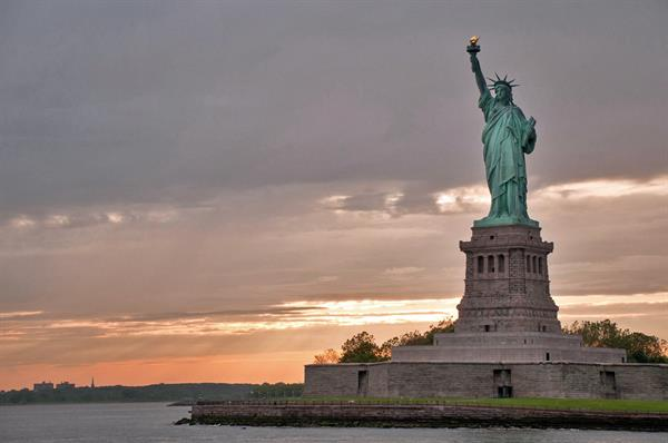 Statue of Liberty and Staten Island