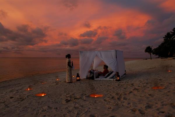 Romantic Private dinner on the beach