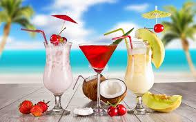 A Drink on the Beach!