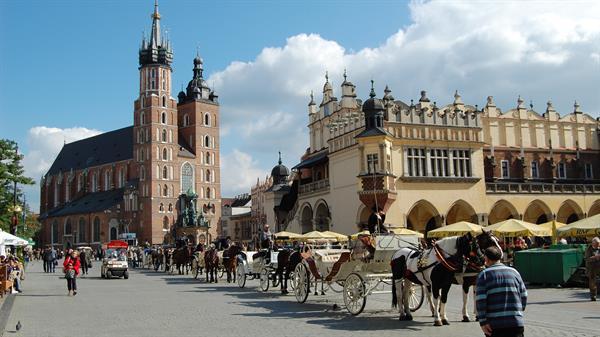Krakow Old Town city tour