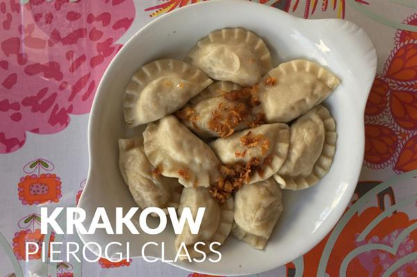 Pierogi cooking class in Krakow
