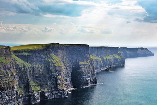 Cliffs of Moher including Wild Atlantic Way and Galway tour from Dublin
