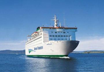 Ferry Crossing Return Ticket to Ireland