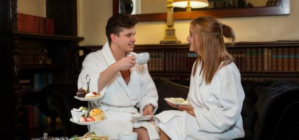 Hazelwood Castle Spa Couples Treatment with Morning Tea