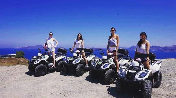 Quad Biking in Santorini