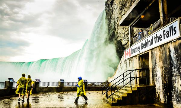 Journey Behind the Falls!
