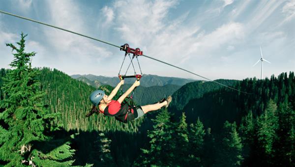 Grouse Mountain Zipline Experience