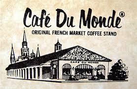 Beignets & Cafe au Lait at Café du Monde