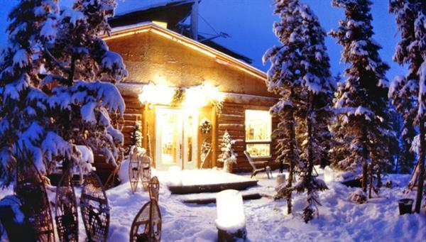 First Night at Blachford Lake Lodge