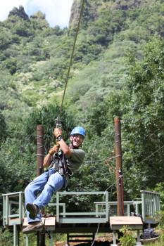 Zipline and ATV fun